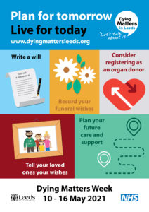 Dying Matters 2021 poster